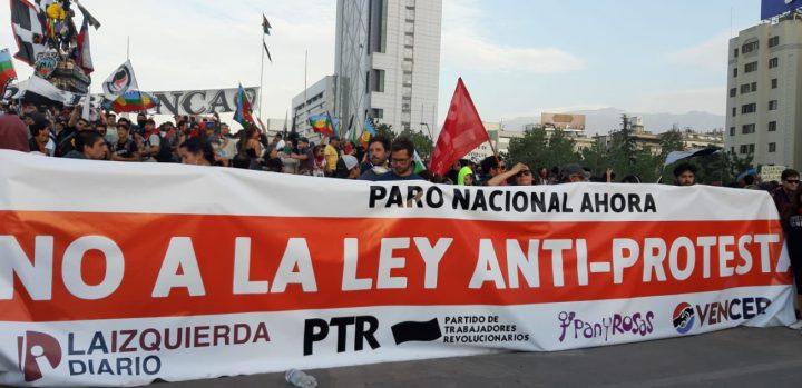 no Ley antiprotesta