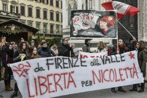 Anche a Firenze presidio per la libertà di Nicoletta Dosio