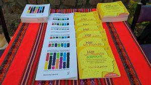 """[Perú] Marcela Latorre: Presentación de libros """"Hay un Mundo Adentro"""" y """"Experiencias y Metodologías del Aprendizaje en la Acción"""""""