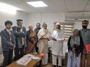 Union Minister Pratap Chandra Sarangi writes to Niti Ayog to consider Demands of Satyagraha