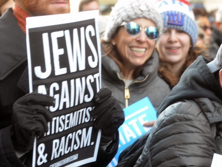No Hate No Fear Jew against antisemitism