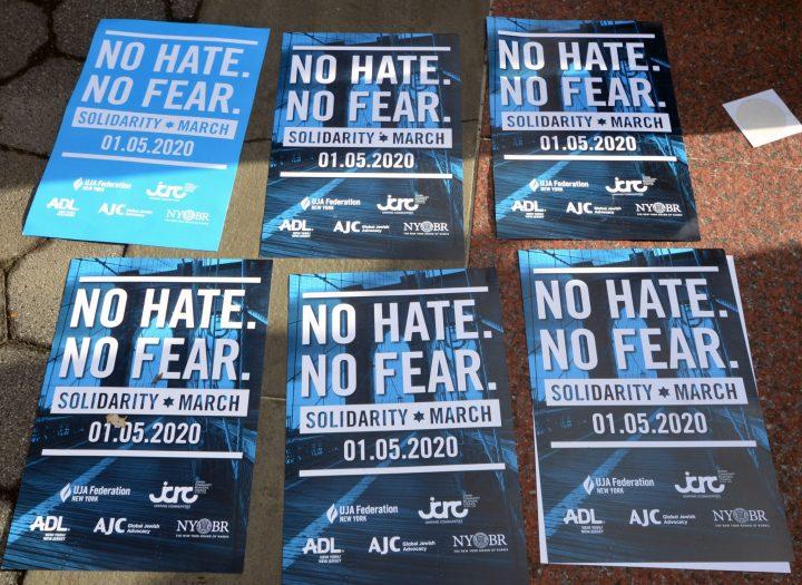 No Hate No Fear Signs