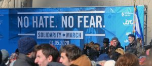 """""""No Hate No Fear"""" Solidarity March for Jewish Communities in NYC"""