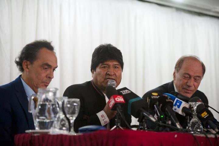 Ferreyra y Zaffaroni se suman a la defensa de Evo Morales