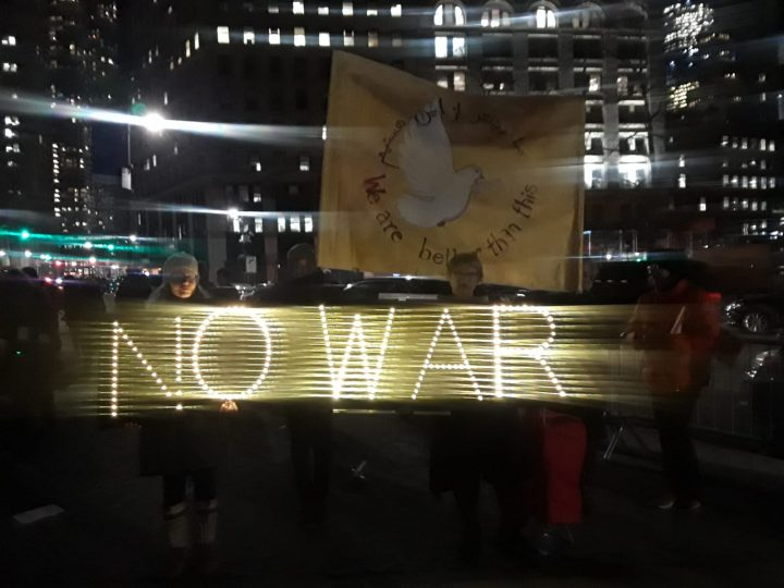 No a la guerra con Irán: Día de acción en Nueva York