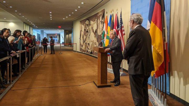 Guterres Calls For De-escalating 'Dangerous' Geopolitical Tensions