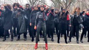 Women Protest Against Accused Rapists Harvey Weinstein & President Trump