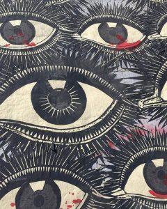 Χιλή: street art σε γέφυρα του Σαντιάγο