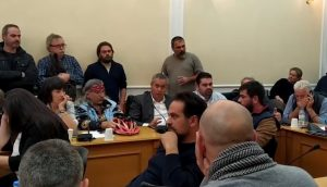 Βίντεο: παρέμβαση Πρωτοβουλίας Κρήτης ενάντια στις εξορύξεις υδρογονανθράκων στο συμβούλιο της Περιφέρειας