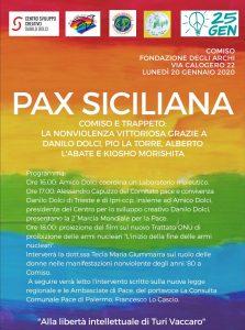 Pax Siciliana: la nonviolenza vittoriosa grazie a Comiso e Trappeto