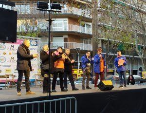 Festa del barri de Sant Antoni: parlament de Pressenza Barcelona
