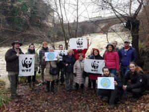 La protesta dei pesci di fiume: 100 sit-in e flash mob su fiumi e torrenti