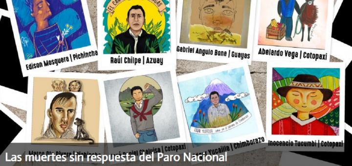 Las muertes sin respuesta del Paro Nacional en Ecuador
