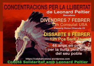 Una vegada més: Alliberin a Leonard Peltier, 75 anys, 44 en la presó