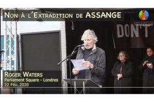 Don't Extradite Assange : Le message de Roger Waters