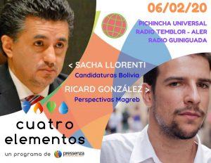 Cuatro Elementos del 06/02/2020 Magreb y la situación en Bolivia