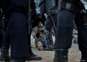 Acampa Coruña contra la sentencia del Tribunal Europeo de DDHH por vulnerar los derechos de los migrantes