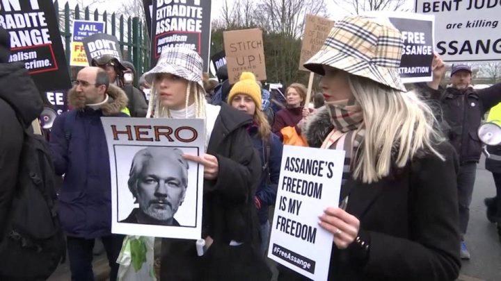 U.K. Court Opens Deliberations on Julian Assange's Extradition Case