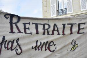 [Reportage photo] Manifestation contre la réforme des retraites