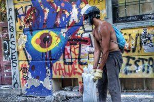 [Chile] Entrevista de Claudia Aranda a muchachos de la Primera Línea