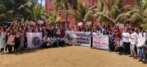 Δράσεις στο Κολλέγιο Bravan στη Βομβάη για τη 2η Παγκόσμια Πορεία για την Ειρήνη και τη Μη-βία