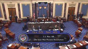 Senate Passes Resolution Limiting Trump's War Powers Authority
