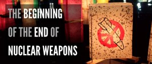 """Screening of """"The Beginning of the End of Nuclear Weapons"""" in Liverpool"""