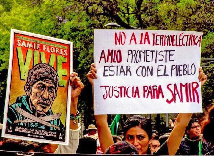 Movimiento por la Paz exige esclarecimiento del asesinato de Samir Flores y un alto a los megaproyectos