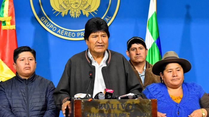 ΜΙΤ: καμία ένδειξη απάτης στις βολιβιανές εκλογές του Μοράλες