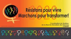 La coordination du Québec de la Marche mondiale des femmes a dévoilé ses revendications