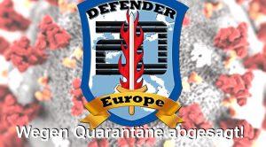 Defender Europe 2020: Kriegsspiel wegen Quarantäne abgesagt