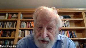 """Noam Chomsky: """"Wir werden die Coronakrise überstehen, aber wir haben noch viel ernstere Krisen vor uns"""""""