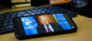 UN Chief Warns of Coming Recession for the Planet