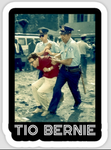 """Corporate Media Ignores Latinos Came Out for """"Tio"""" Bernie"""