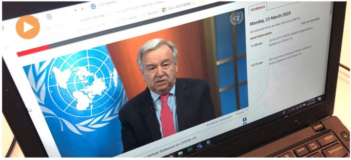 COVID-19: UN chief calls for global ceasefire to focus on 'the true fight of our lives'