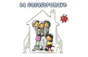 Casastronave: raccontare isolamento e quarantena ai bambini