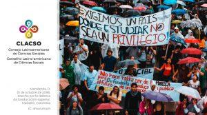 CLACSO se pronuncia frente a la situación de violencia contra organizaciones estudiantiles y profesorales de las Universidades Públicas de Colombia