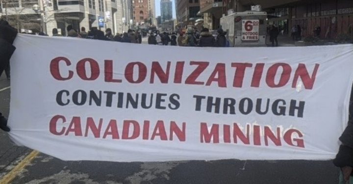 'Against Colonial Violence and Land Theft,' Indigenous Activists and Allies Target Mining Industry Convention in Toronto