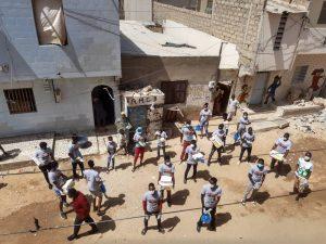Stop Coronavirus: la pandémie et le manque d'eau