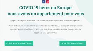 Coronavirus. Solidarité des agences immobilières