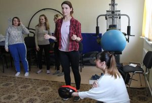 Belarusian women turn to self-defence in battle against domestic violence