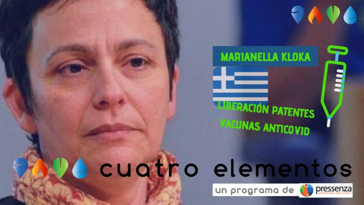 Debatte um die Freigabe von Impfstoff-Patenten von Marianella Kloka