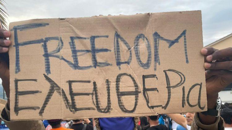 Marchas en Samos por la paz y la solidaridad