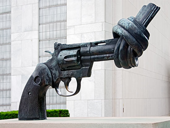 Immediately address the issue of gun control through the introduction of legislation in Congress.