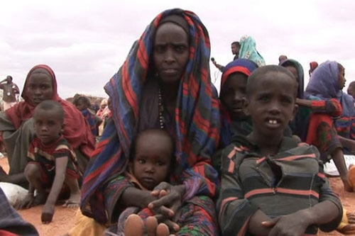 Thousands of Somalis have fled their country to escape famine | Credit: UN