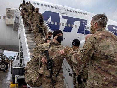 American Troops leaving Afghanistan