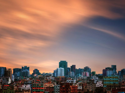 Dhaka skyline. Wikimedia Commons