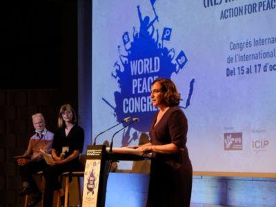 Zweiter Weltkongress für den Frieden findet in Barcelona statt