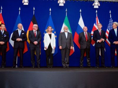 Negotiations about Iranian Nuclear Program - the Ministers of Foreign Affairs and Other Officials